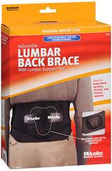 Mueller Sport Care Adjustable Lumbar Back Brace One Size 6721 - 1 EA