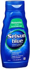 Selsun Blue Dandruff Shampoo Moisturizing - 11 OZ