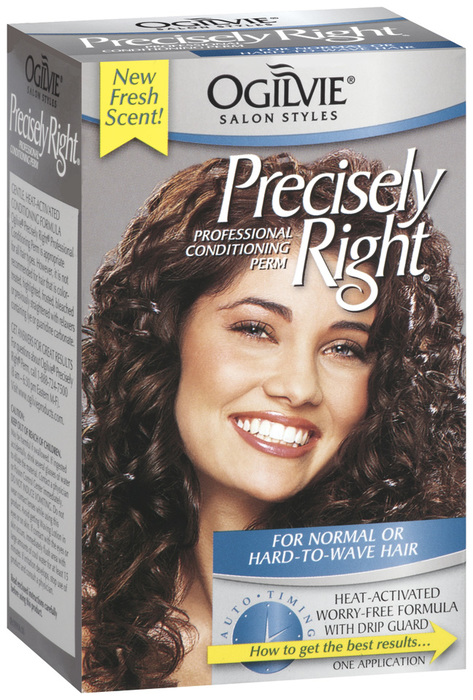 Ogilvie Precisely Right Perm Normal or Hard-To-Wave - 1 EA