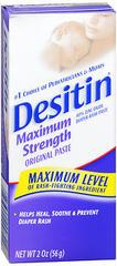 DESITIN Original Diaper Rash Paste Maximum Strength - 2 OZ