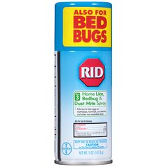 RID Home Lice, Bedbug & Dust Mite Spray Step 3 - 5 OZ