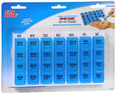 Ezy Dose One-Day -at-a-Time Medication Organizer 67124 - 1 EA