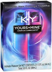 K-Y YOURS&MINE LUB 2X1.5OZ