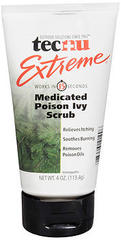 Tecnu Extreme Medicated Poison Ivy Scrub - 4 OZ