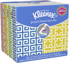 Kleenex Facial Tissue Go Pack [Case of 24]