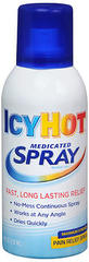 ICY HOT Medicated Pain Relief Spray Maximum Strength - 4 OZ
