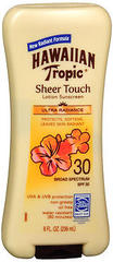 Hawaiian Tropic Sheer Touch Lotion Sunscreen SPF 30 - 8 OZ