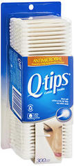 Q-Tips Antimicrobial Cotton Swabs - 300 EA