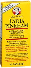Lydia Pinkham Herbal Tablets - 72 TAB