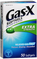 Gas-X Softgels Extra Strength - 50 CAP