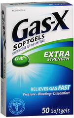 Gas-X Softgels Extra Strength - 50 CAP