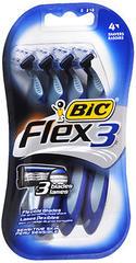 Bic Flex 3 Disposable Shavers Sensitive Skin - 4 EA