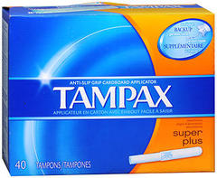 Tampax Tampons Super Plus Absorbency - 40 EA