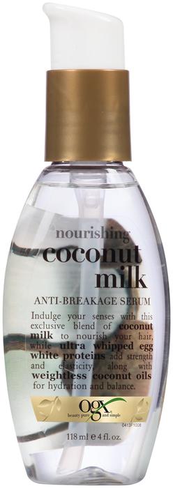 OGX Nourishing Coconut Milk Anti-Breakage Serum - 4 OZ