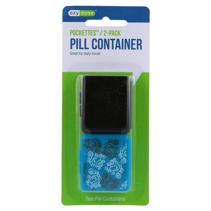 Ezy-Dose Indestructo Pill Boxes - 2 EA