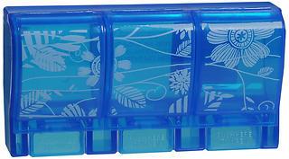 Ezy Dose 3 Compartment Pill Reminder - 1 EA