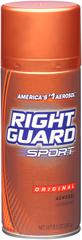 Right Guard Sport Aerosol Deodorant Original - 10 OZ