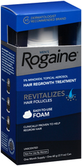 Rogaine Men's Hair Regrowth Treatment Foam Unscented - 1 EA