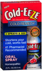COLD-EEZE Oral Spray Cherry Flavor - 0.76 OZ