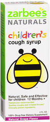 Zarbee's Naturals Children's Cough Syrup Grape Flavor - 4 OZ