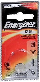 Energizer Watch/Electronic Battery 1216 - 1 EA