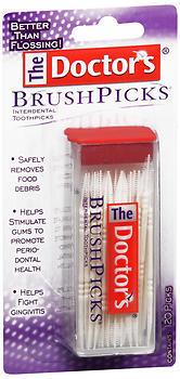 The Doctor's BrushPicks - 120 EA