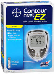 Contour Next EZ Blood Glucose Monitoring System Kit - 1 EA