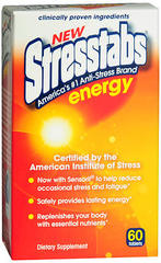 Stresstabs Energy Tablets - 60 TAB