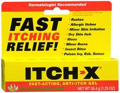 Itch-X Anti-Itch Gel - 1.25 OZ