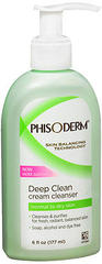 pHisoderm Deep Clean Cream Cleanser - 6 OZ
