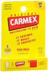 Carmex Moisturizing Lip Balm SPF 15 Original - 0.15 OZ