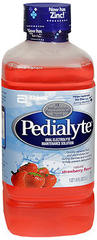 Pedialyte Oral Electrolyte Maintenance Solution Strawberry Flavor - 33.8 OZ