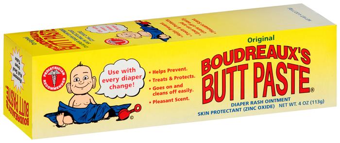 Boudreaux's Butt Paste Diaper Rash Ointment Original - 4 OZ