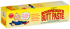 Boudreaux's Butt Paste Diaper Rash Ointment Original - 4 OZ