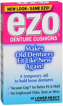 Ezo Denture Cushions Lower Heavy - 15 EA
