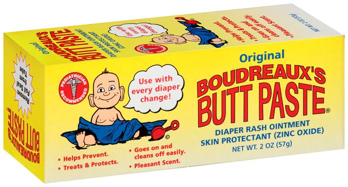 Boudreaux's Butt Paste Diaper Rash Ointment Original - 2 OZ