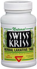 Swiss Kriss Herbal Laxatives Tabs - 250 TAB