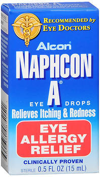 Naphcon A Eye Allergy Relief Eye Drops - 0.5 OZ