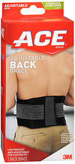 ACE Back Brace Adjustable - 1 EA