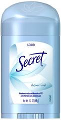 Secret Anti-Perspirant/Deodorant Solid Shower Fresh - 1.7 OZ