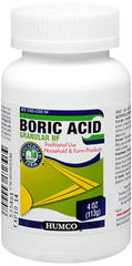 Humco Boric Acid Granular NF - 4 OZ