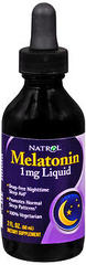 Natrol Melatonin 1 mg Liquid - 2 OZ