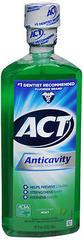 ACT Anticavity Fluoride Mouthwash Mint - 18 OZ