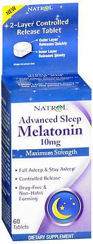Natrol Advanced Sleep Melatonin 10 mg Tablets - 60 TAB