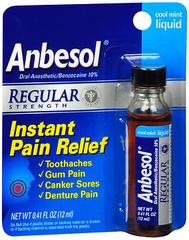 Anbesol Liquid Regular Strength Cool Mint - 0.41 OZ