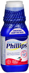 Phillips' Milk of Magnesia, Wild Cherry  - 12oz