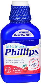 Phillips' Milk of Magnesia, Wild Cherry  - 26oz