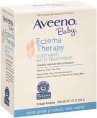 AVEENO Baby Eczema Therapy Soothing Bath Treatment - 3.75 OZ
