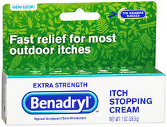 Benadryl Itch Stopping Cream Extra Strength - 1 OZ