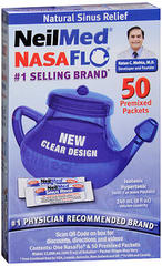 NeilMed NasaFlo Nasal Rinse Device with Packets - 1 EA